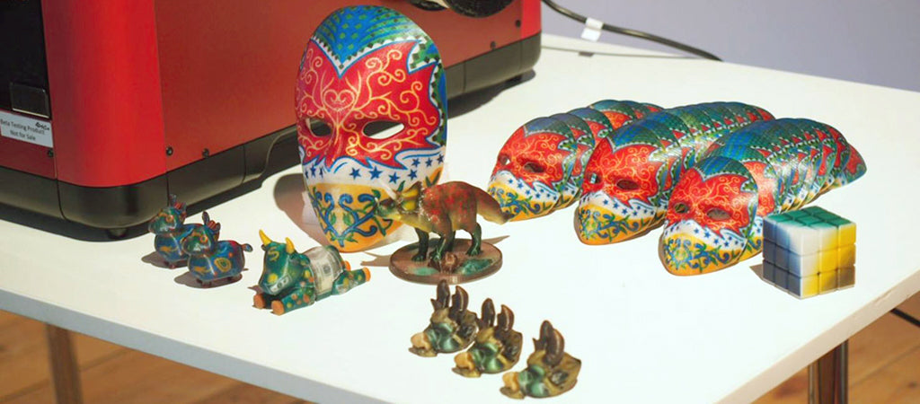 xyz printing xyzprinting da vinci color prints models masks
