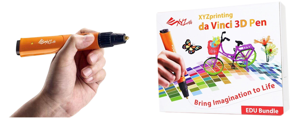 xyz 3d printing pen da vinci education bundle