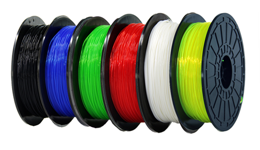 Flashforge Dreamer Genuine PLA Filament. They are also 100% compatible with the Dremel Idea Builder 3D Printer.