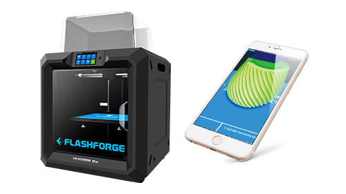 Flashforge Guider IIs remote monitor 3d prints with WiFi connectivity on your network