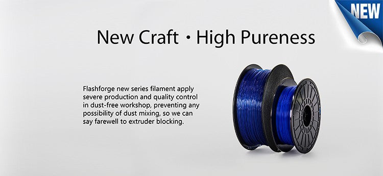 High Purity PLA filament for Flasforge Dreamer 3D Printing