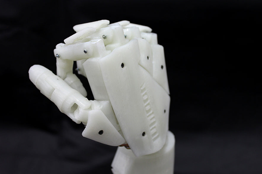 Robot Hand 3D Printed On a Flashforge Creator Pro