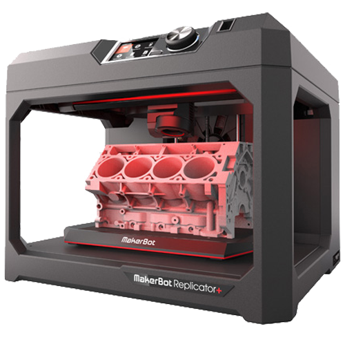 Makerbot Replicator+ 6th Generation 3D Printer for Proffessionals & Education