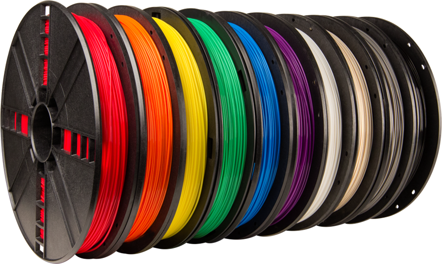 Makerbot True Colour PLA Colours