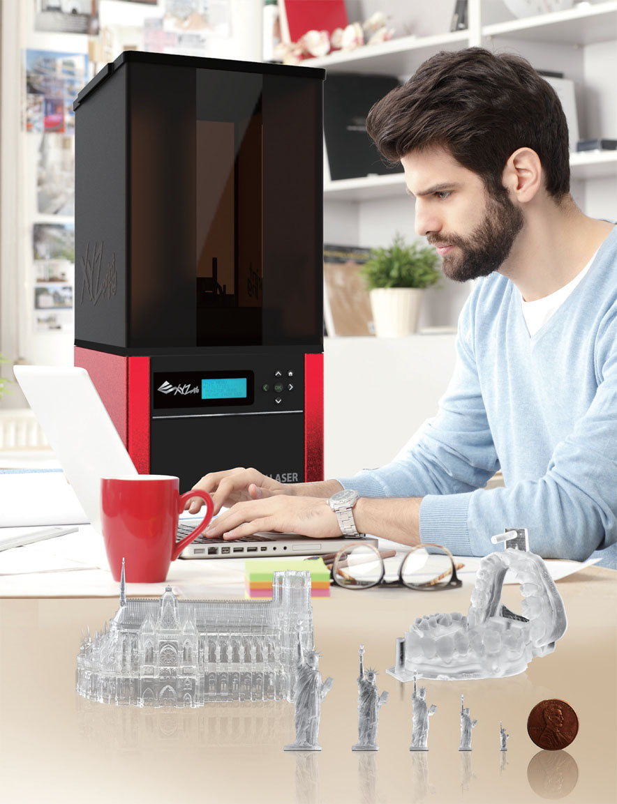 Nobel 1.0A Advanced and most affordble SL 3D Printer for Sale for Professionals