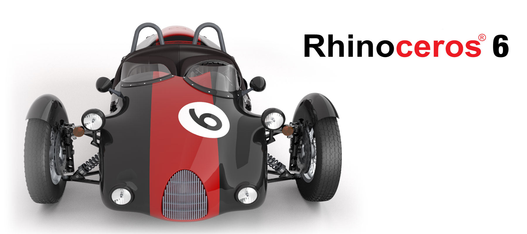 Rhino 6 for Windows Commercial Single User NEW!