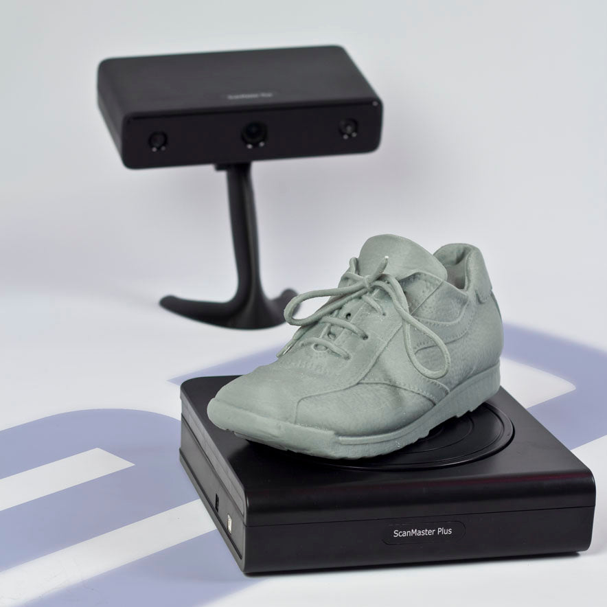 ScanMaster Plus 3D Scanning a Shoe