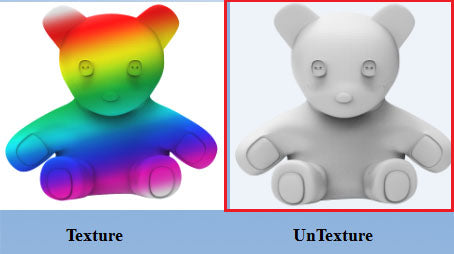 Einscan-S Software now features Full Colour Texture Mapping