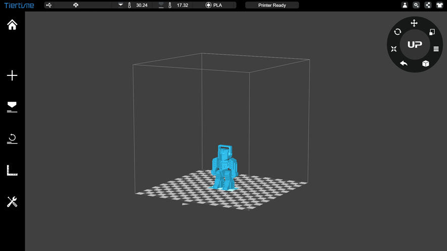 Up Studio App for Tiertime 3d printers