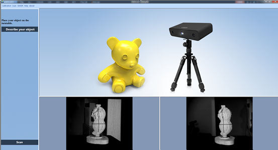 Einscan-S Software 3d scanning