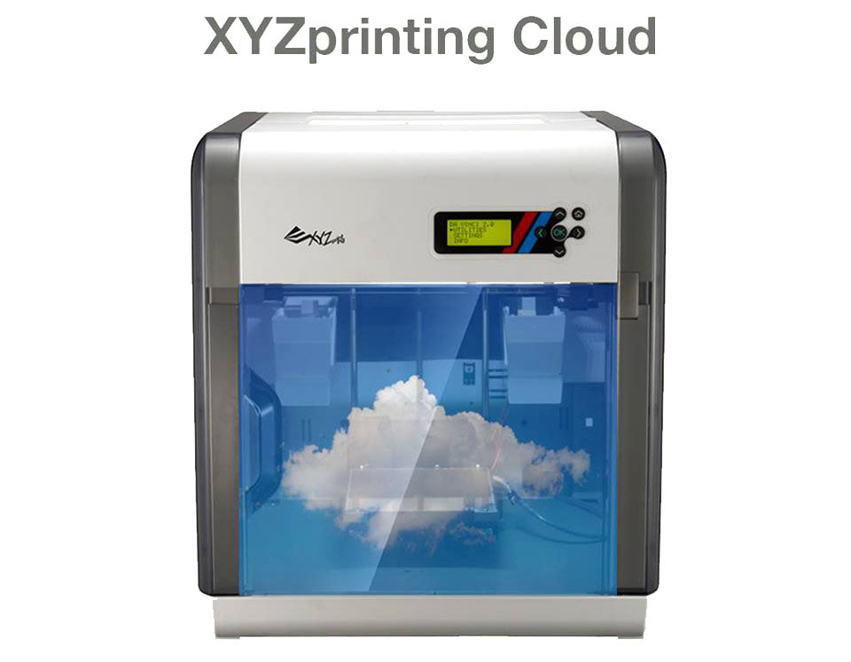 XYZWorld 3D Printing cloud Library Da Vinci 2.0 Duo