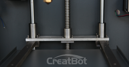 CreatBot Z axis engineered for rigidity