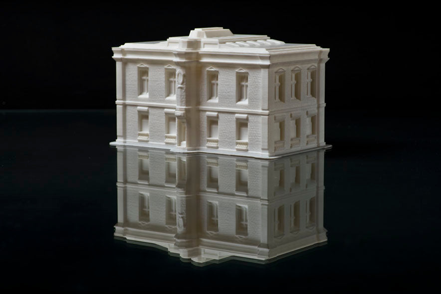 Creator Pro 3D Printed Building in PLA