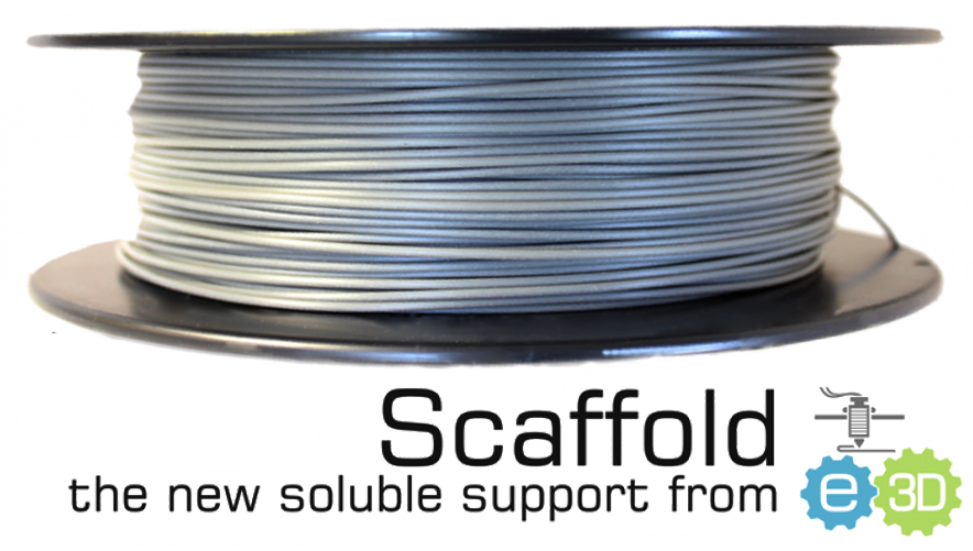 e3D Scafold Water Soluble Support for 3d printers