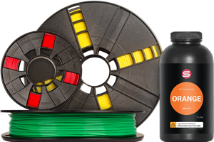 Filament & Resins for 3d printers