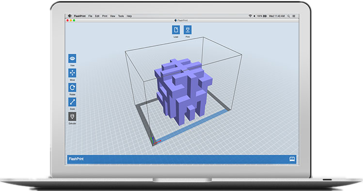 Flashprint 3D Pritning Software for Flashforge 3D Printers