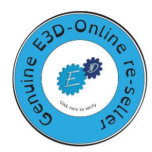 Geneine e3d-online re-seller logo