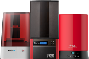 SLA 3D Printers for Sale including Moonray and Nobel 1.0