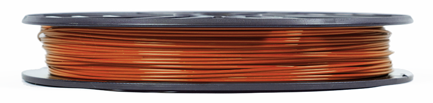 makerbot PLA filament true brown replicator