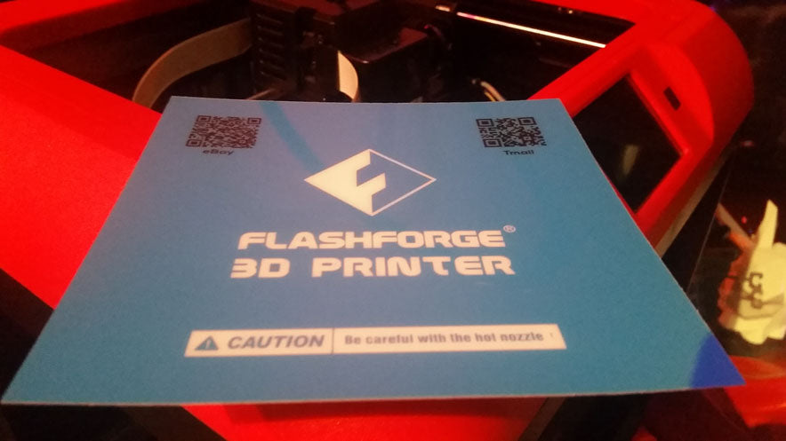 Flashforge Finder Buildtak Printing Surface 150 x 150mm
