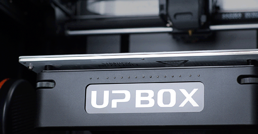 Up Box+ heated bed with open temperature customisation