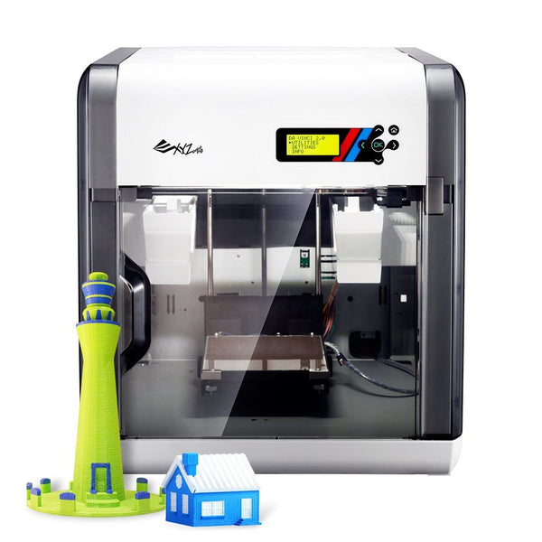 Da VInci 2.0 Duo 3D Prints in multi colours