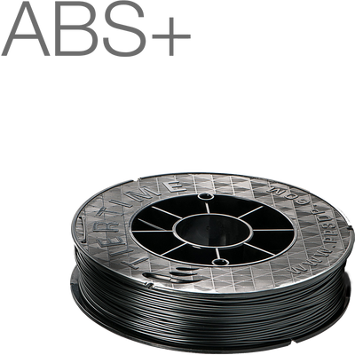 Up Fila ABS+ Premium Black 3D Printing Filament by Tiertime 500gram 1.75mm