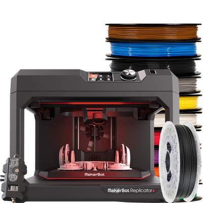 makerbot replicator + experimental bundle for schools and creators