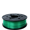 xyz 3d printer printing filament PLA cartridge replacement clear green
