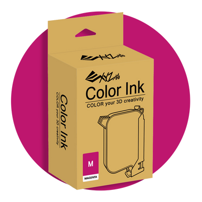 xyzprinting xyz printing printer da vinci color colour ink magenta