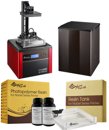 Noble 1.0A Super Bundle with Photopolymer Resin & Tank