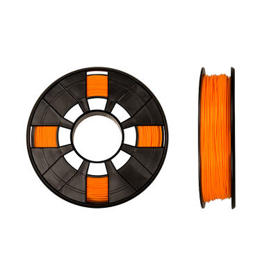 makerbot PLA filament true neon orange replicator