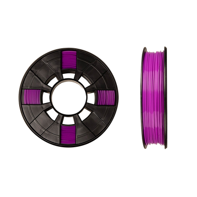 makerbot PLA filament true purple replicator small