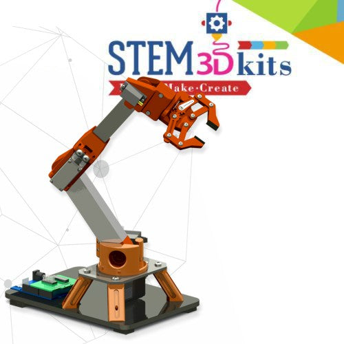 MIRA - 5 Axis Robotic Arm STEM Kit
