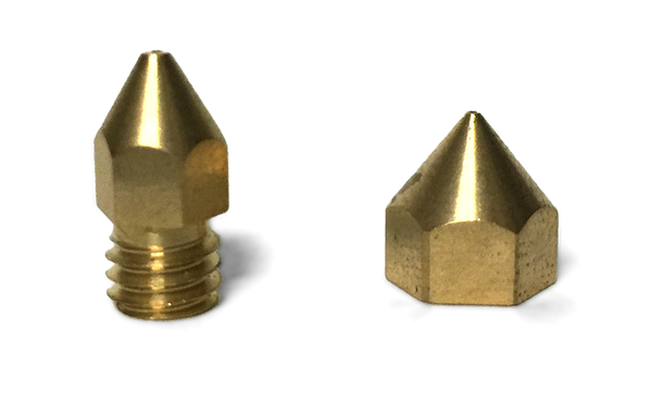 8mm and 6mm Extrusion Nozzles for Up 3D Printers melbourne australia