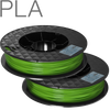 UP PLA filament by TierTime Green 500 gram