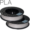 UP PLA filament by TierTime grey 500 gram twin pack
