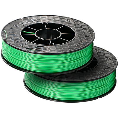 Up Fila ABS Green 3D Printing FIlament by Tiertime