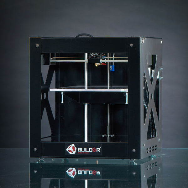 Builder 3D Printer black byCode p-West 3dprinters4u