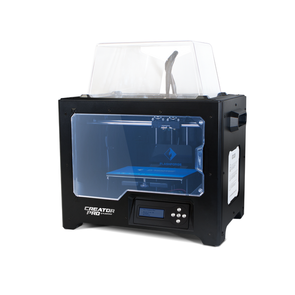 Flashforge Creator Pro Dual Head 3D Printer (ex gst)
