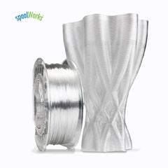 e3d edge pla abs 3d printing printer filament crystal clear