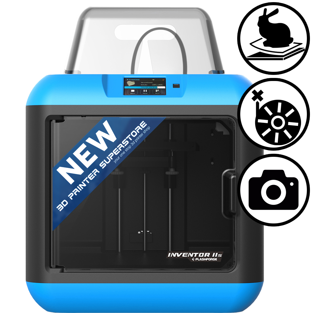 flashforge inventor 2 II s 2s IIs NEW 3d printer with air filtering