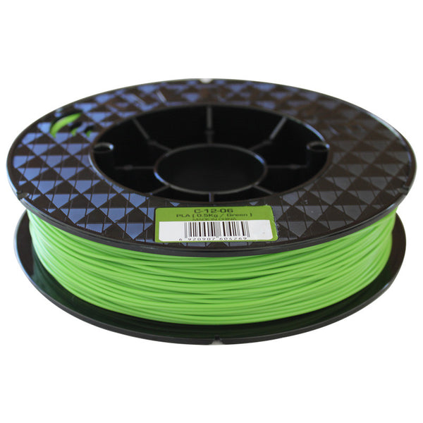 Green premium ABS filament for Up Box 3D Printers