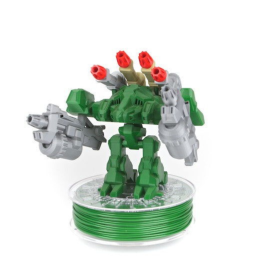 Colorfabb 3d printed Transformer in Leaf Green PLA/PHA