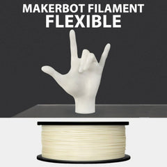 Makerbot filament flexible