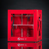Builder 3D Printer red by Code p-West 3dprinters4u