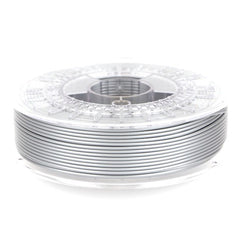 Colorfabb shiny silver PLA PHA filament spool