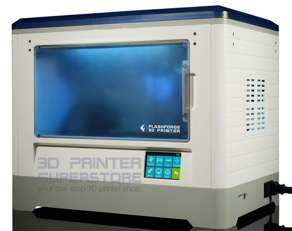 FLashforge Dreamer 3D Printer with touchscreen and WiFi connectivity.