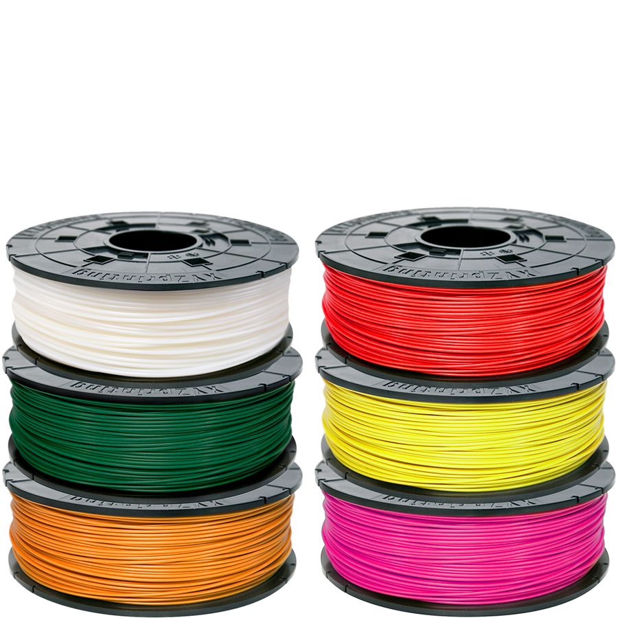 Xyz Printing Da Vinci Series Compatible Filament Abs Pla Flexible Wiring X Y Z 3d Printer Cartridge Replacement 6 Pack