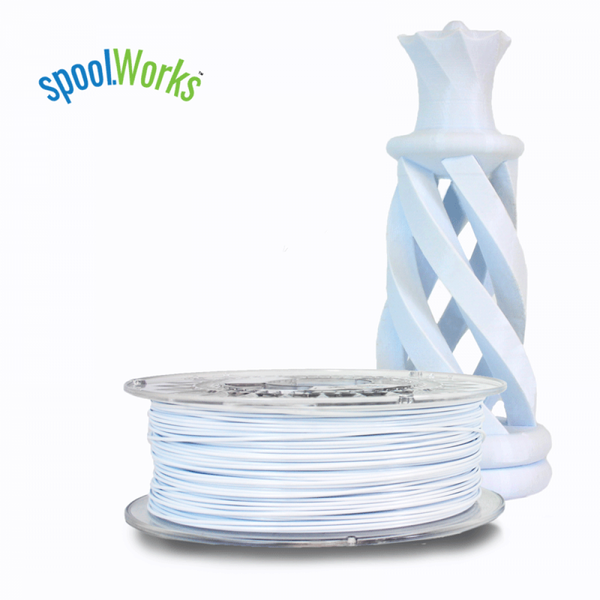 e3d edge filament 3d printer printing spool petg white dover